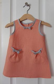 Medidas de vestido para bebe de 3 meses